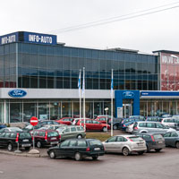 Info-Auto Järve autokauppa Tallinna