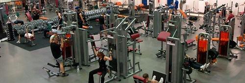 Sparta liikuntakeskus kuntosali Tallinna