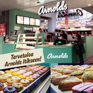 Arnolds donitsikahvila Kauppakeskus Itis Helsinki
