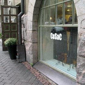 CaSaC vaateliike Kauppakeskus Forum Helsinki