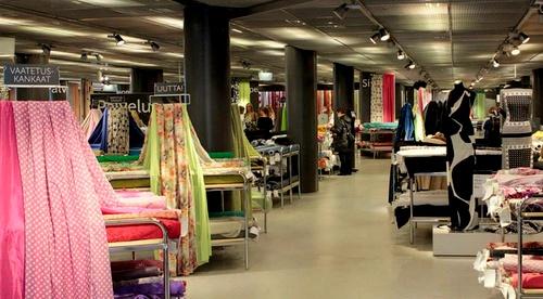 Eurokangas myymälä Helsinki