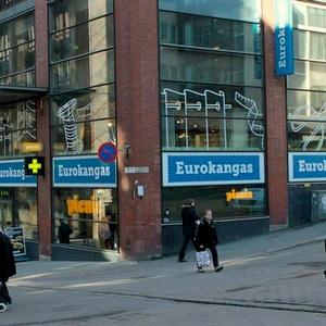 Eurokangas myymälä Helsinki keskusta