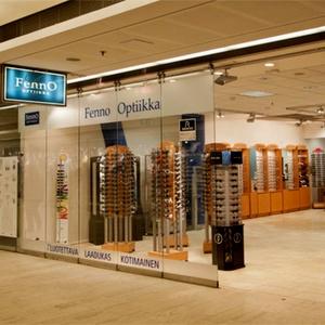 Fenno Optiikka optikkoliike Kauppakeskus Kamppi Helsinki