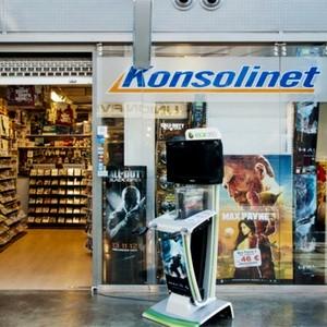 Konsolinet pelikauppa Kauppakeskus Kamppi Helsinki