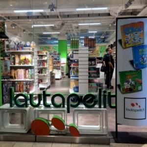 Lautapelit.fi myymälä Kauppakeskus Kamppi Helsinki