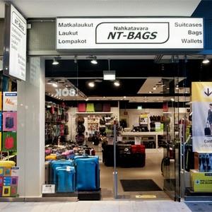 NT-Bags laukkukauppa Kauppakeskus Kamppi Helsinki