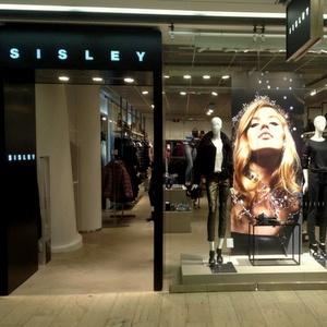 Sisley vaatekauppa Kauppakeskus Kamppi Helsinki
