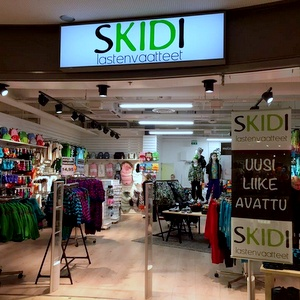 Skidi lastenvaateliike Kauppakeskus Kamppi Helsinki