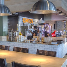 Chico's amerikkalainen ravintola Töölö Helsinki