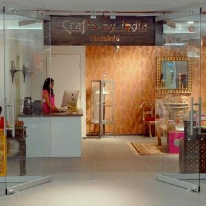 Crafts by India intialainen kauppa Helsinki