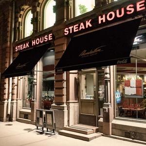 Manhattan Steak House pihviravintola Esplanadi Helsinki