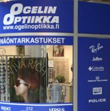 Ogelin Optiikka optikkoliike Helsinki