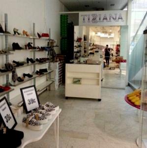 Tizziana kenkäkauppa Galleria Esplanad Helsinki