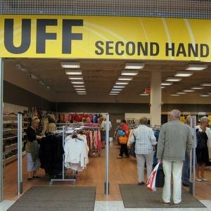 UFF Second Hand myymälä Vuosaari Helsinki