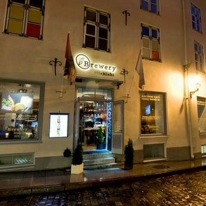 Brewery olutravintola vanhakaupunki Tallinna