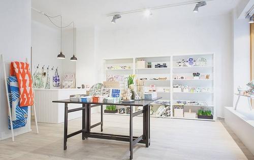 Kauniste myymälä Helsingissä
