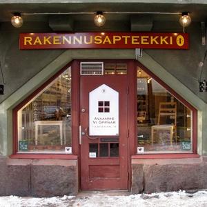 Rakennusapteekki myymälä Helsinki