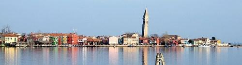 Buranon saari Venetsia Italia