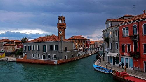 Canal Grande di Murano Venetsia Italia