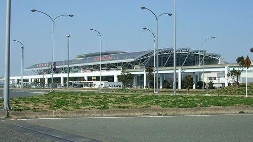 Fukuokan lentokenttä Japani