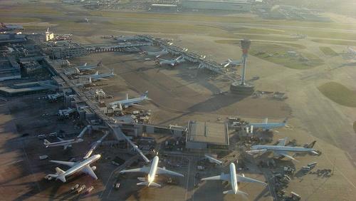 Lontoon Heathrown lentoasema terminaali 3