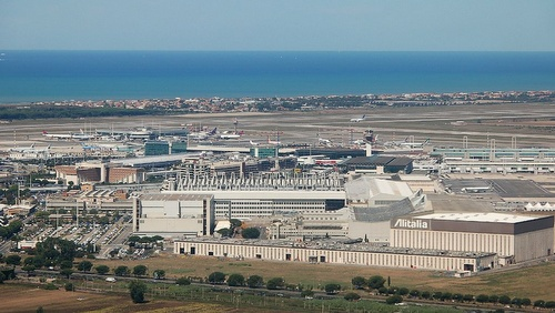 Rooma Fiumicino lentokenttä