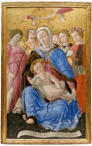 Sienalaisen koulukunnan taideteos 1433 Domenico di Bartolo