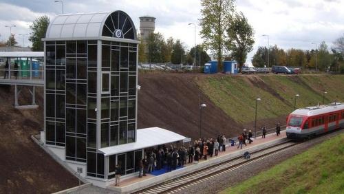 Vilnan lentokenttä juna