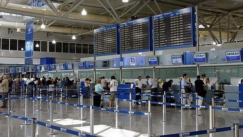Ateenan lentoaseman check-in