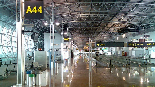 Brysselin lentoaseman terminaalilaituri A