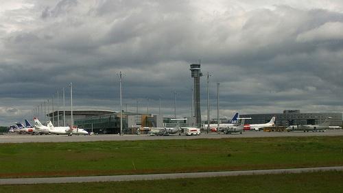 Gardermoenin lentokenttä Oslo