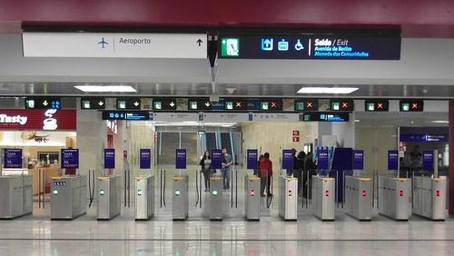 Lissabonin metro asema lentoasemalla