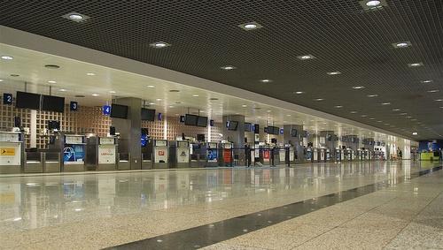 Madeira lentokenttä check-in-halli