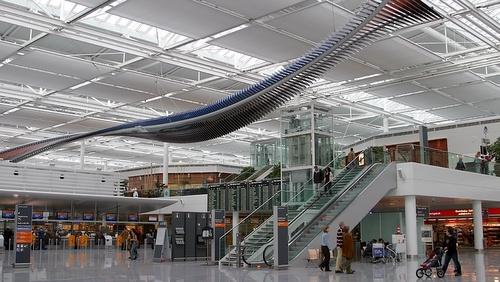 Munchenin lentoaseman terminaali 2