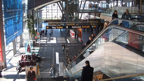 Oslon lentoaseman terminaali