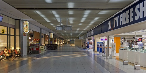 Rodos lentoasema terminaali