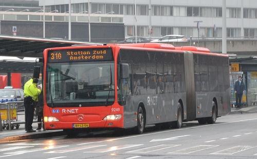 Schipholin lentokenttä bussi Amsterdam