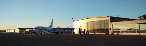 Seinäjoen lentokenttä charter lento