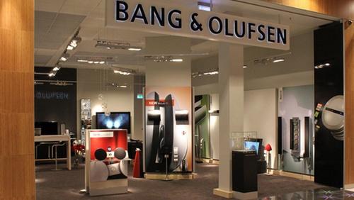 Bang & Olufsen myymälä Bromma Blocks Tukholma