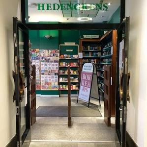 Hedengrens bokhandel kirjakauppa Tukholma
