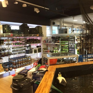 Huntyard & Berras metsästys- ja kalastuskauppa Tukholma