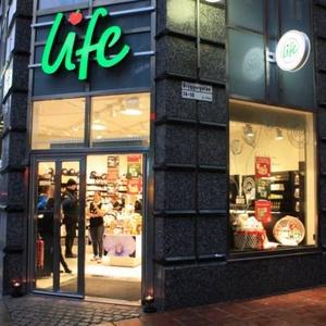 Life myymälä Vasagatan Tukholma