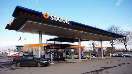 Statoil huoltoasema Ruotsi