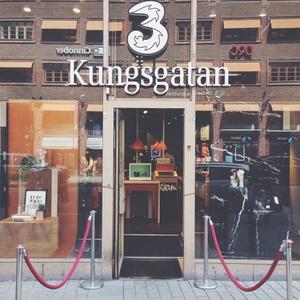 3Butiken myymälä Kungsgatan Tukholma