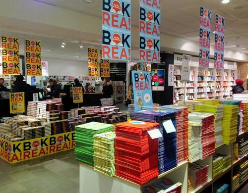 Akademibokhandeln kirjakauppa Tukholma