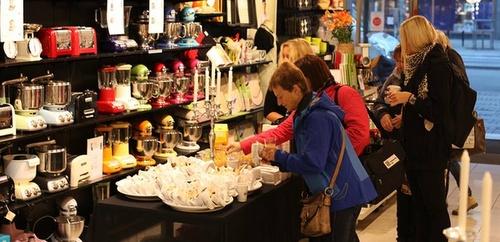 Cervera myymälä Ruotsi