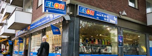 ELON kodinkoneliike Tukholma