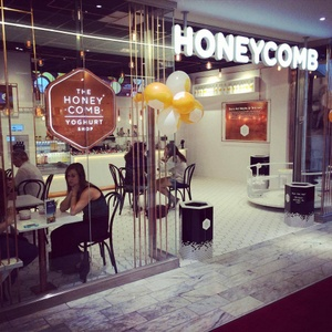 Honeycomb jogurttikahvila Ruotsi