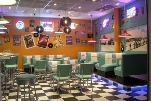 Rockin Burgers & Shakes hampurilaisravintola Bromma Blocks Tukholma