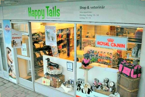 Happy Tails lemmikkieläinkauppa Tukholma